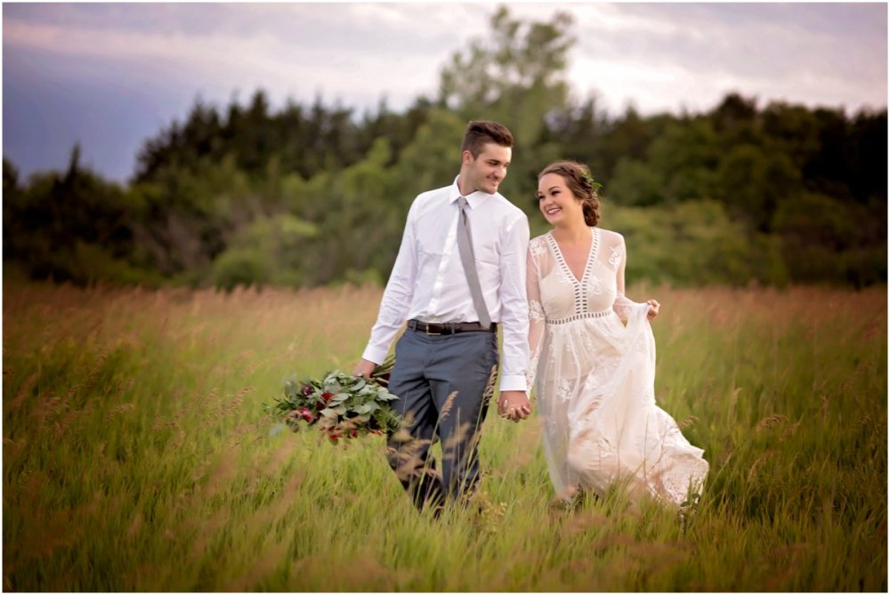 gray skinny tie blue dress pants lace dress wedding attire